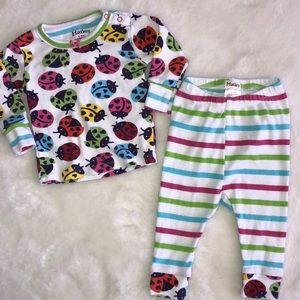 Hatley lady bug pajamas 6-9 months